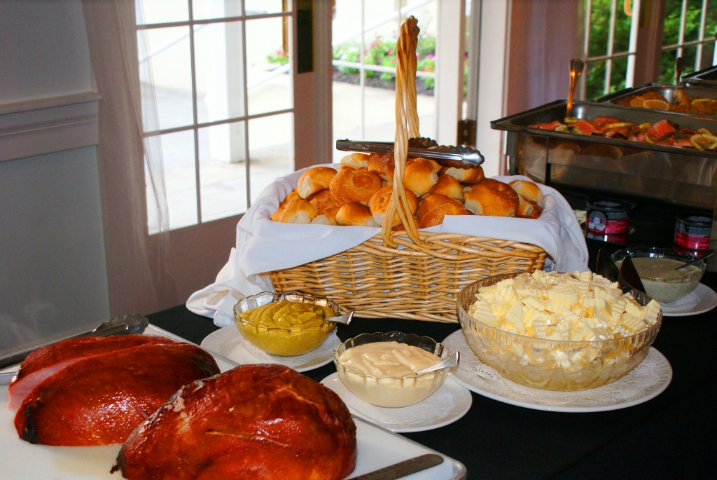 Cuisine at the 173 Carlyle House in Norcross
